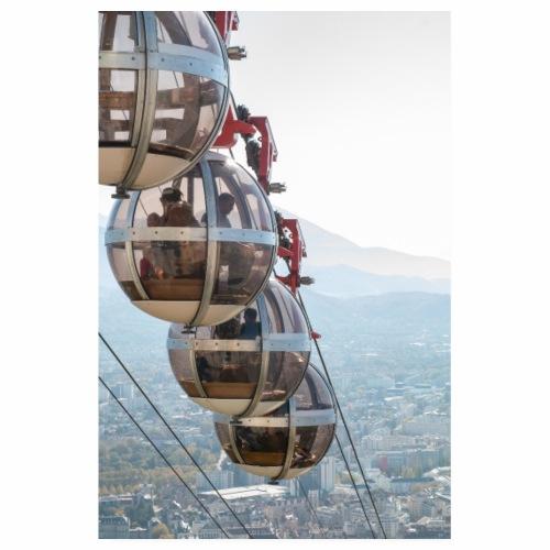 Les bulles de Grenoble - Poster 20 x 30 cm