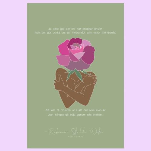 Blomma ut - Poster 20x30 cm