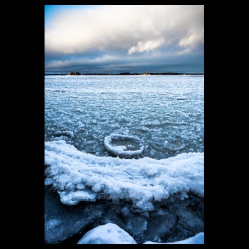Jäämeri Saimaalla - Juliste 20x30 cm