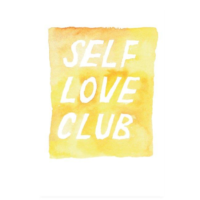 brushmeetspaper Self Love Club 60x90