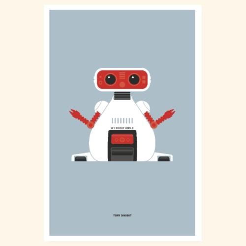 TOMY Dingbot - Poster 8 x 12 (20x30 cm)