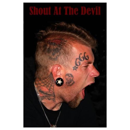 Shout At The Devil - Poster 8 x 12 (20x30 cm)