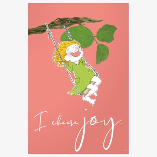 Joy Poster - Poster 20x30 cm