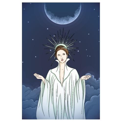Unter dem Mond - Poster 20x30 cm