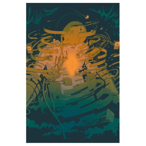 Boodaman Poster 2x3 - Poster 8 x 12 (20x30 cm)