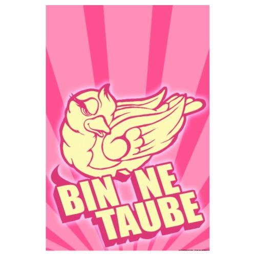 BIn `ne Taube - Poster 20x30 cm