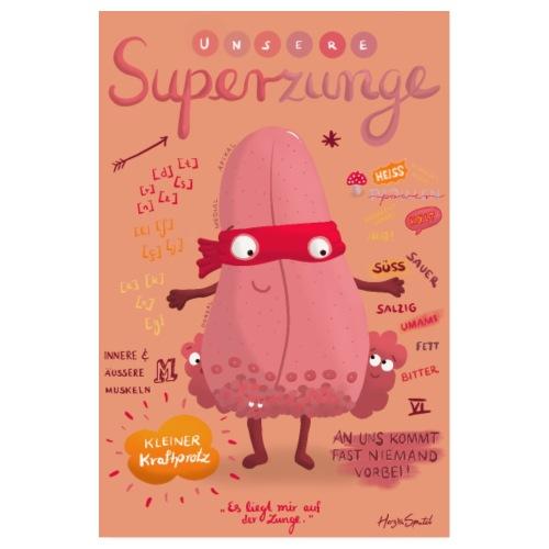 Superpower - Poster 20x30 cm