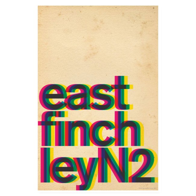 East Finchley Poster 3
