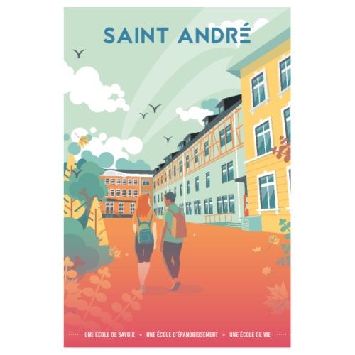Poster Vie À Saint André 108 - Poster 20 x 30 cm