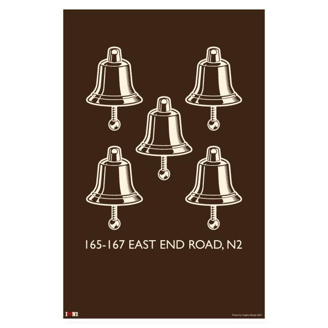 Five Bells Poster