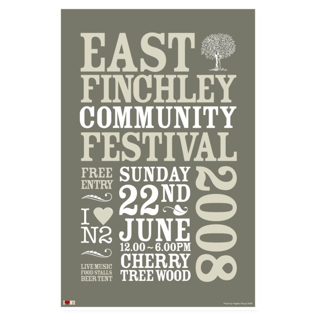 East Finchley Festival Poster 2008