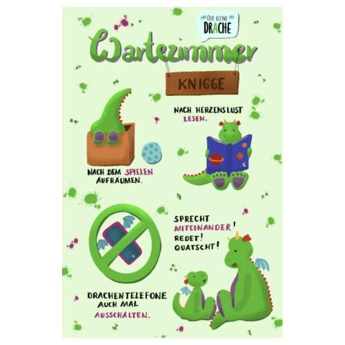 Der kleine Drache - Poster 20x30 cm
