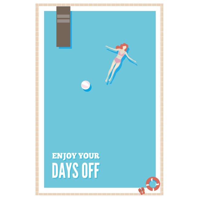 Enjoy your days off - Pool