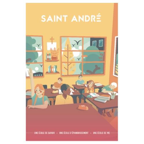 Poster Vie À Saint André 109 - Poster 20 x 30 cm