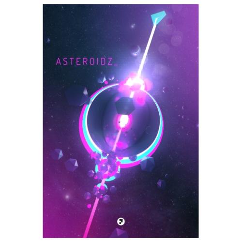 Asteroidz - Poster 8 x 12 (20x30 cm)