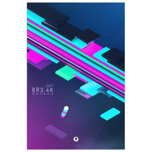 BREAK OUT - Poster 8 x 12 (20x30 cm)