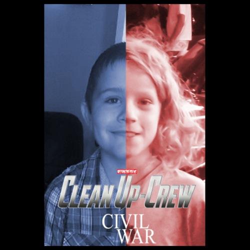 Clean-Up Crew Civil War - Poster 8 x 12