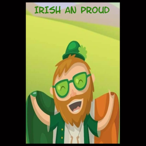 Irish an Proud Poster jpg - Poster 8 x 12 (20x30 cm)