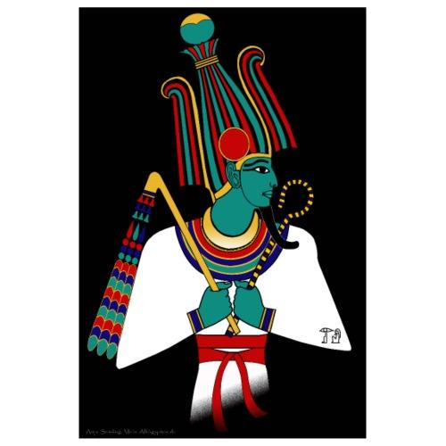 POSTER: Osiris, altägyptische Gottheit - Poster 20x30 cm