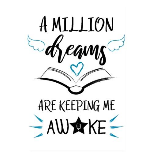 Poster - A Million Dreams - White - 2:3