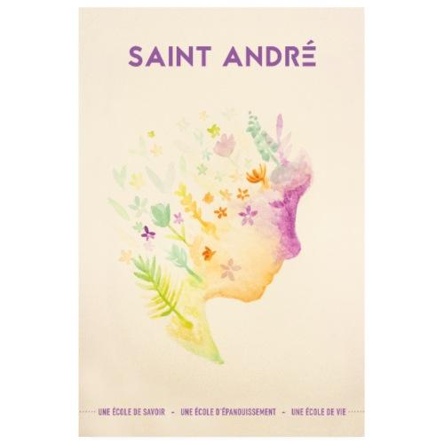 Poster Vie À Saint André 101 - Poster 20 x 30 cm