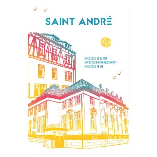 Poster Vie À Saint André 105 - Poster 20 x 30 cm