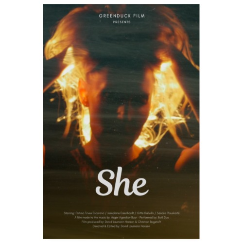 She Movie Poster - Poster 20x30 cm