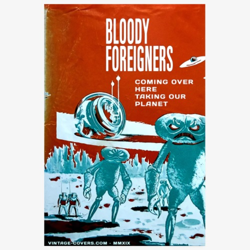 Bloody Foreigners - Poster 8 x 12 (20x30 cm)