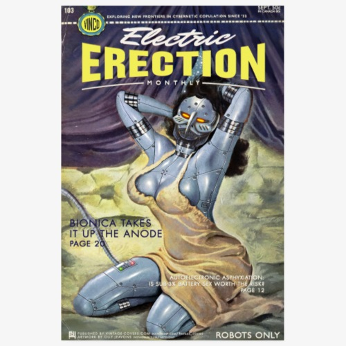 Electric Erection Monthly (Sept. issue) - Poster 20x30 cm