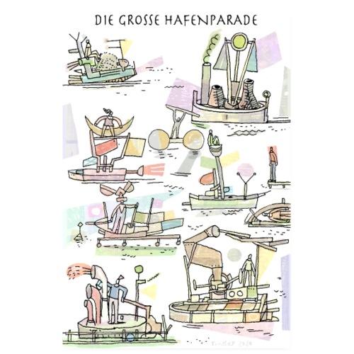 Hafenparade - Poster 20x30 cm