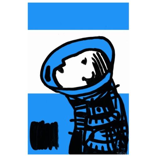Blau - Poster 20x30 cm