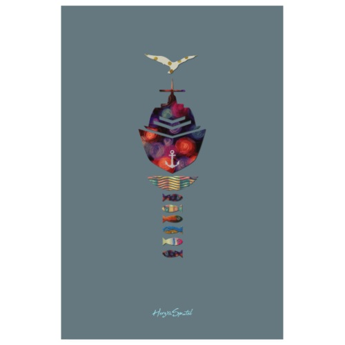 Limited Plakat grey - Poster 20x30 cm