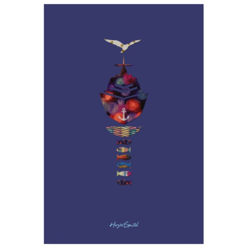 Limited Plakat lila - Poster 20x30 cm