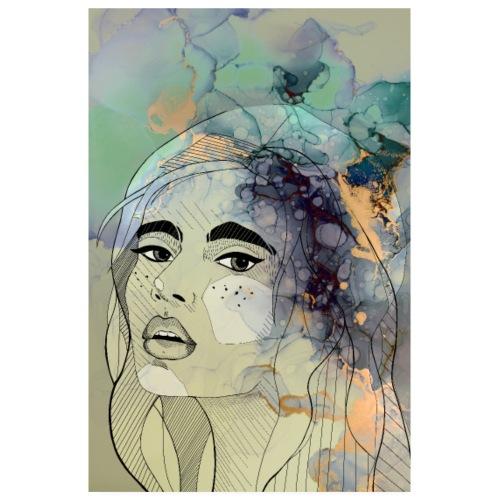 lady - Poster 20x30 cm