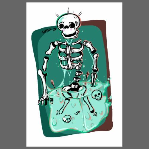 Spooky Slime boi - Poster 20x30 cm