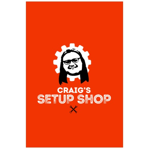 CRAIGS SETUP SHOP - Poster 8 x 12