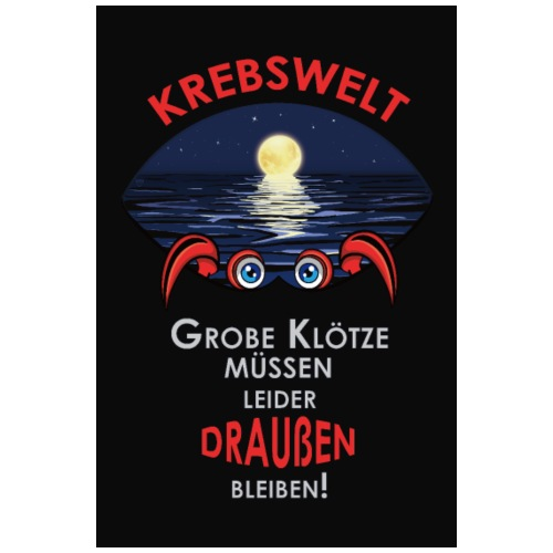 Sternzeichen Krebs | Wandbild/Poster - Poster 20x30 cm