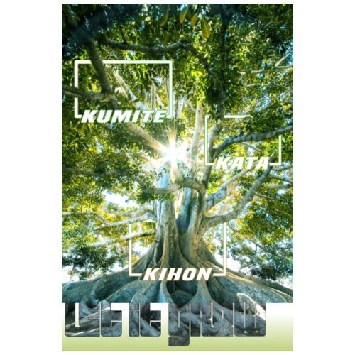 Karate Tree - Let it Grow - Poster 20x30 cm