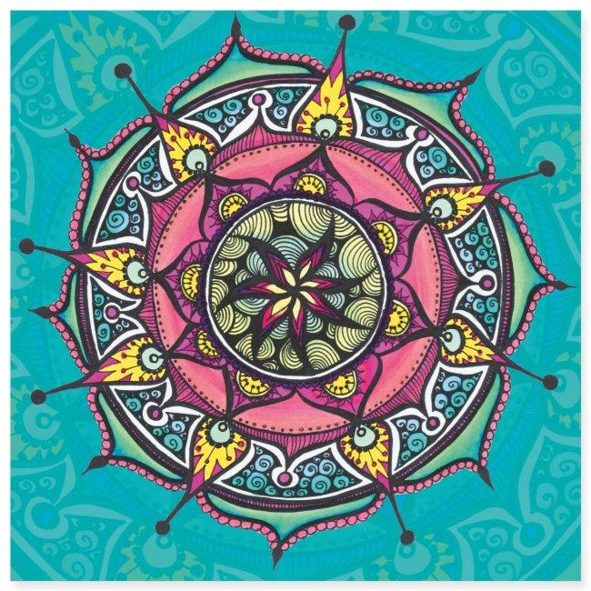 "SoulArt Mandala ""Freude"""