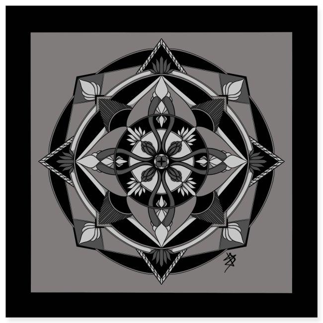 Mandala Mosaïque