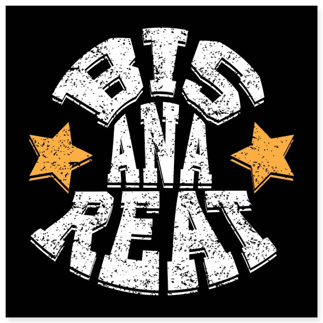 Bis ana reat - Poster 20x20 cm