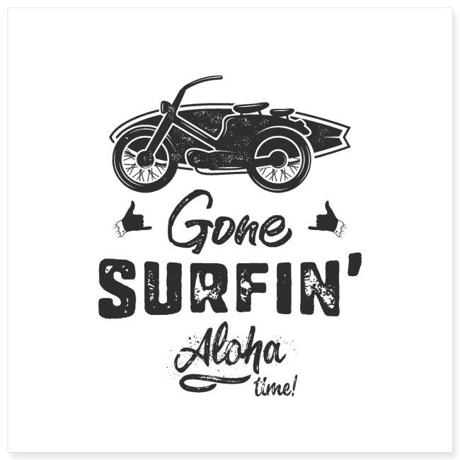 Gone Surfing Black