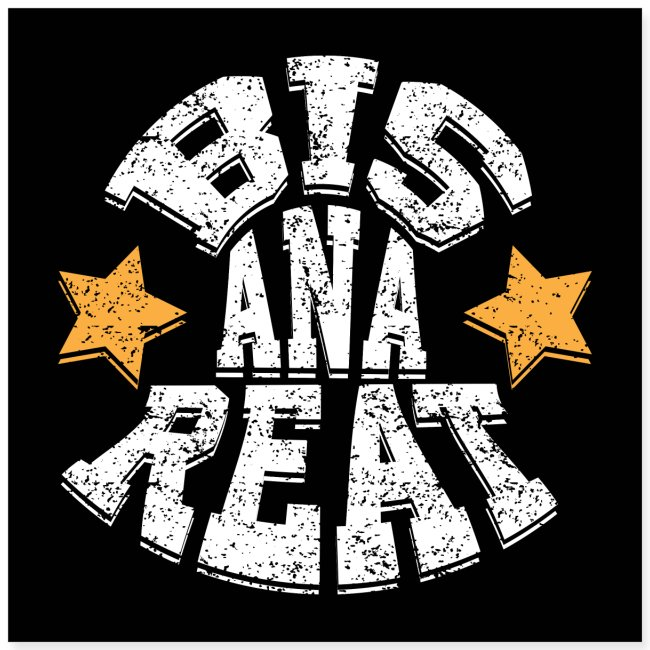 Bis ana reat - Poster 40x40 cm