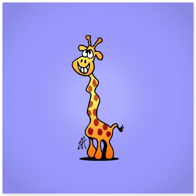 Giggling giraffe
