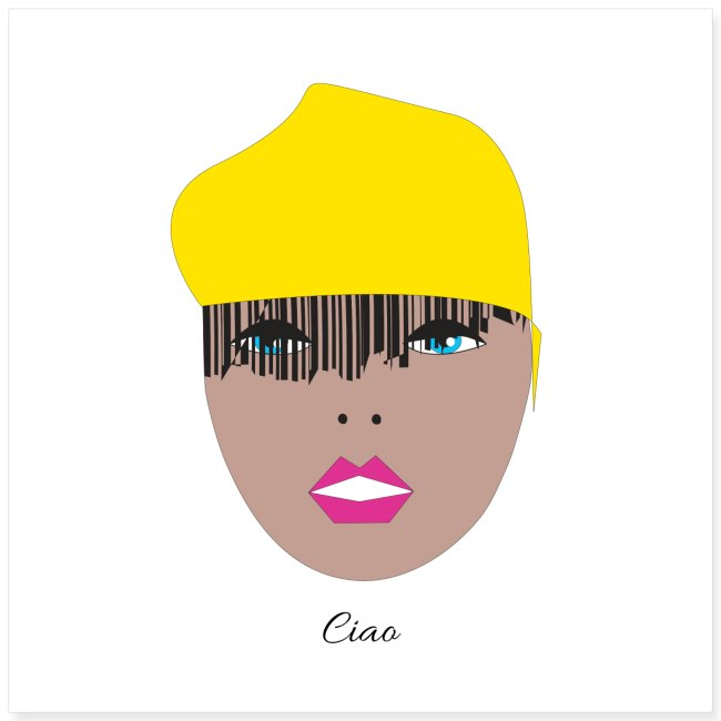 Yellow lady 1 1