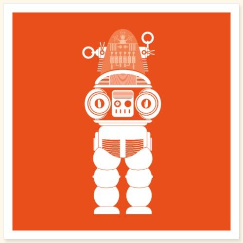 Robbie the Robot - Poster 16 x 16 (40x40 cm)