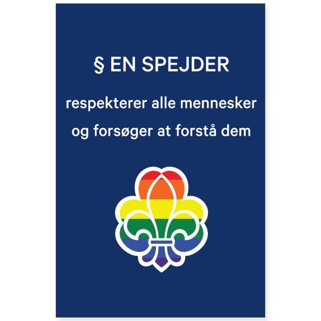 Regnbuespejderplakat nr3