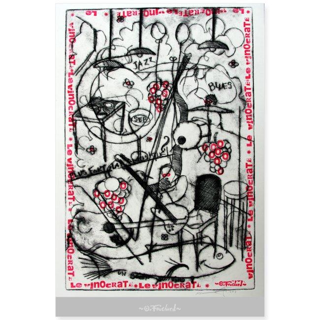 Wine series 7 60x90 cm O.Fouchard
