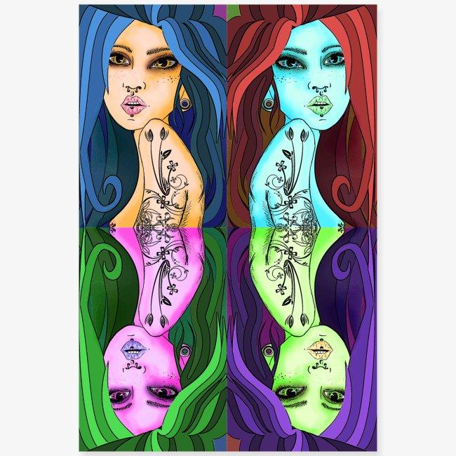 women pop art