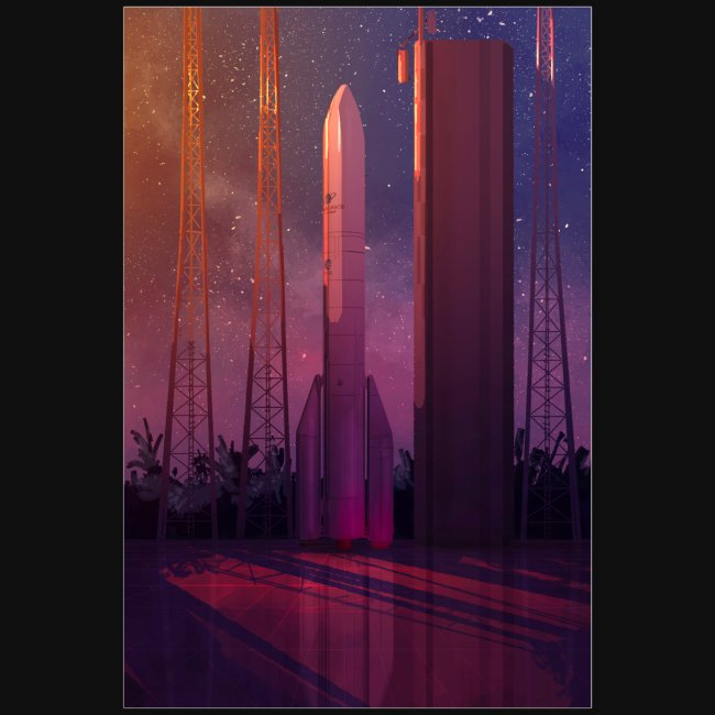 Ariane 6 by Pascal Campion